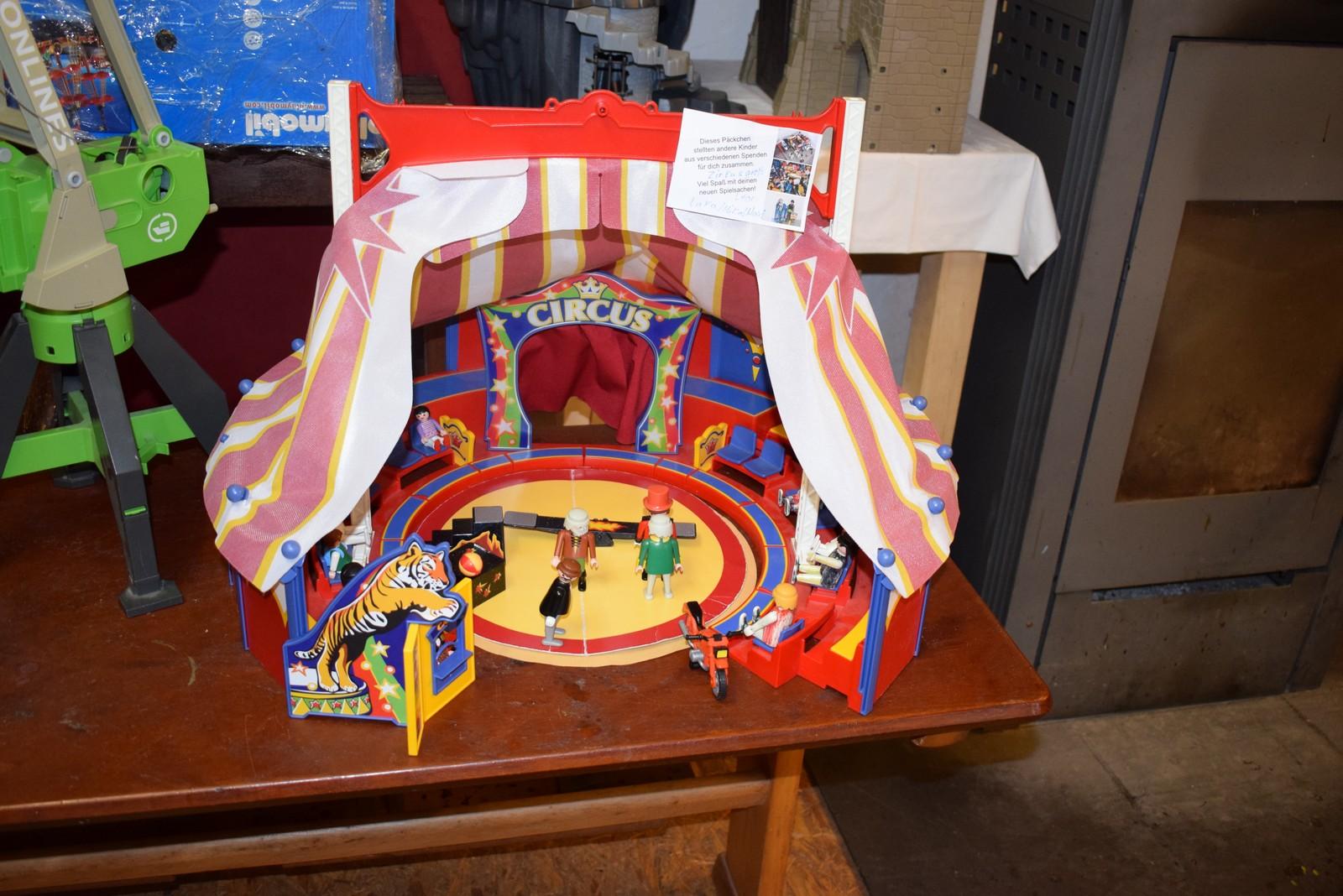 Dieses Zirkuszelt beispielsweise stellten die Mädchen und Jungen im Rahmen der diesjährigen Mettinger Ferienspaßaktion in der Hobo-Station zusammen.