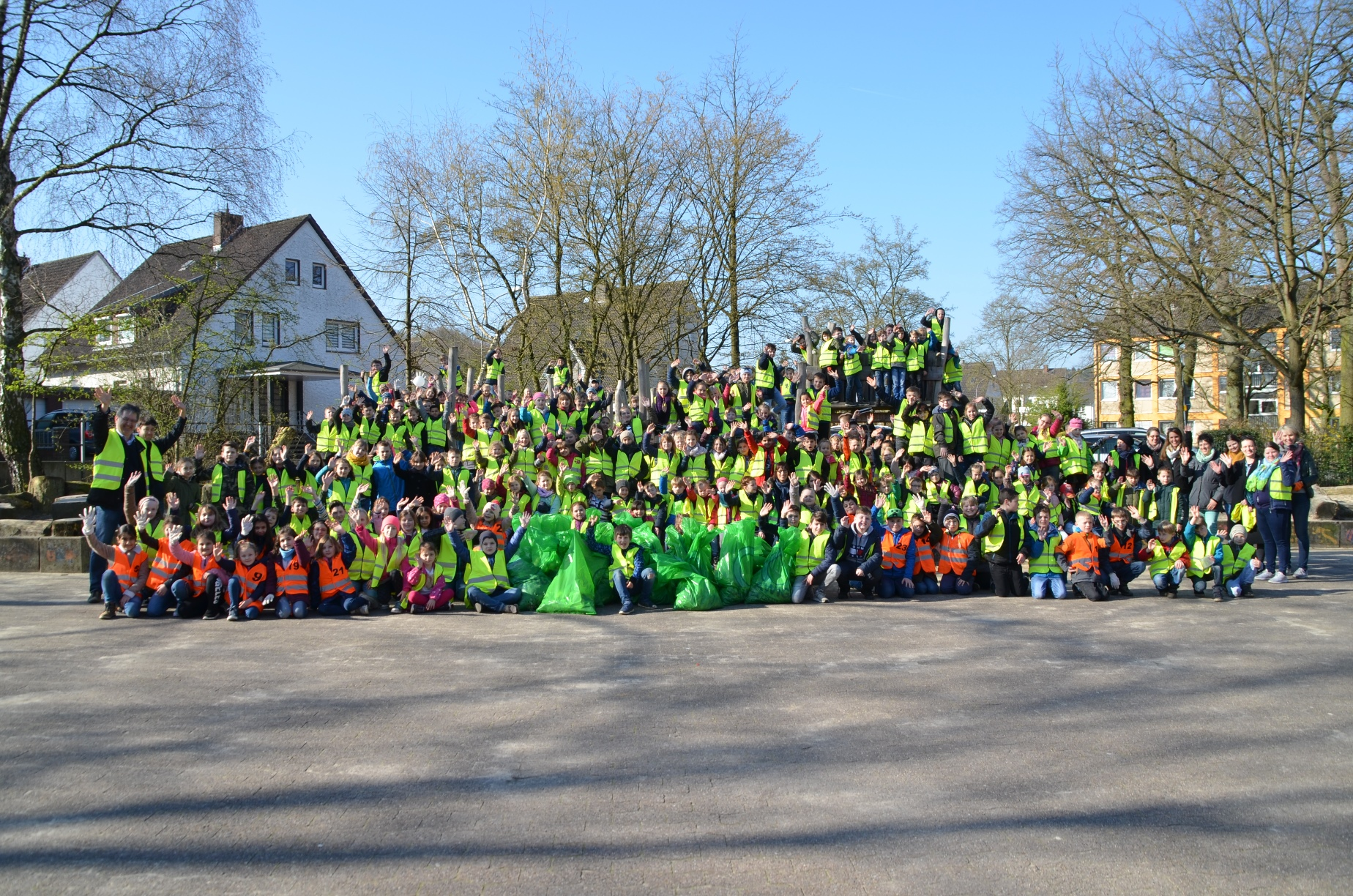 Schüler der Grundschule Belm, Foto: Gemeinde Belm/D. Meyer