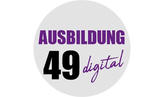 AUSBILDUNG 49 digital: Wir sind dabei!