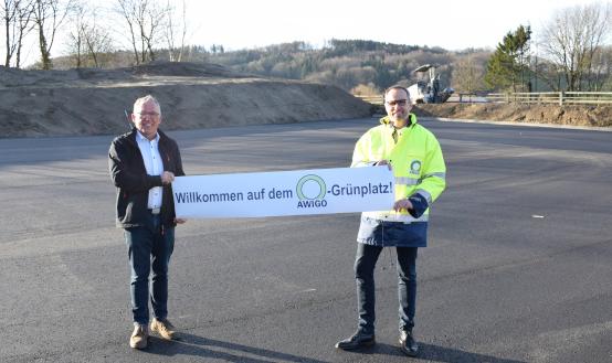 Neuer AWIGO-Grünplatz in Hagen a.T.W. öffnet Karsamstag