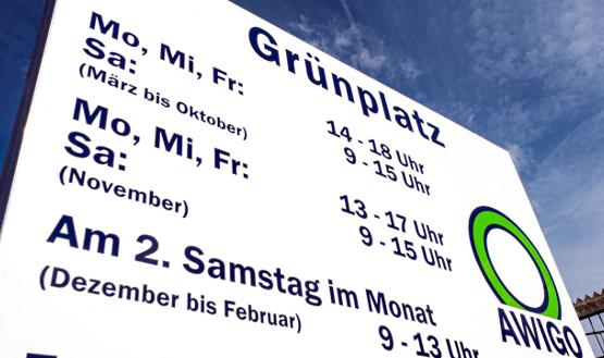 AWIGO-Grünplatz in Wallenhorst-Lechtingen zieht um