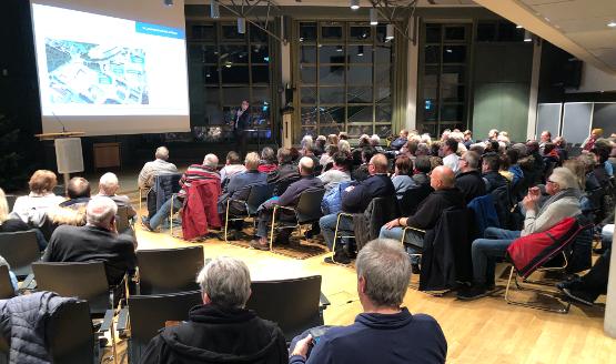 Informationsveranstaltung geplanter Recyclinghof Mündruper Heide