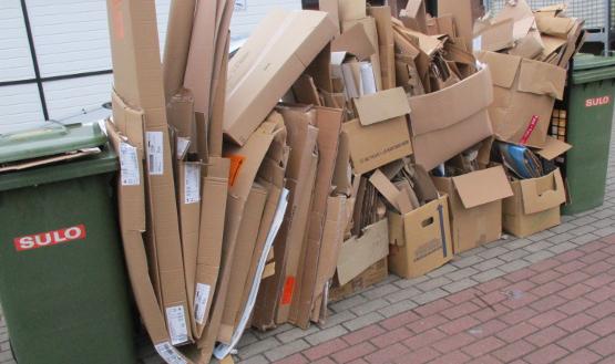 Papierabfuhr im Landkreis: Kostenlos größere oder zusätzliche Abfallbehälter bestellen