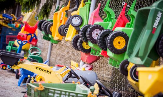 Corona: Spielzeugausgabe nach Terminvereinbarung