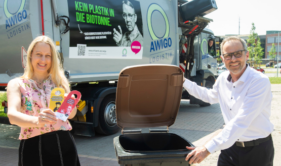 #wirfuerbio – Kein Bock auf Plastik in der Biotonne.