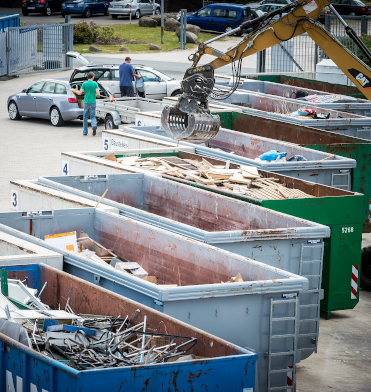Recyclinghöfe und Grünplätze haben geöffnet!