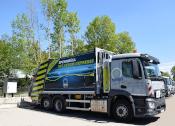 Neues Sperrmüllfahrzeug: Rund 650 Liter Diesel gespart