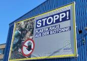 Kein Plastik in die Biotonne!